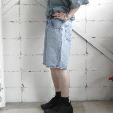 """画像3: 1990's Levi's """"SILVER TAB"""" Relaxed Fit Denim Shorts BLUE DENIM size W33INCH (3)"""