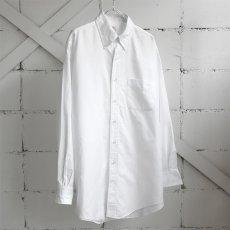 "画像1: 1990's U.S.A. ""Brooks Brothers"" Oxford B.D. Shirt WHITE size L (1)"