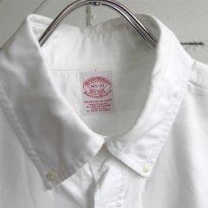 "画像3: 1990's U.S.A. ""Brooks Brothers"" Oxford B.D. Shirt WHITE size L (3)"