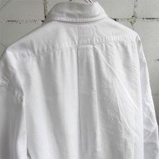 "画像4: 1990's U.S.A. ""Brooks Brothers"" Oxford B.D. Shirt WHITE size L (4)"
