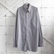 "画像1: 1990's ""Brooks Brothers"" Broad B.D. Shirt NAVY CHECK size XL-XXL (1)"