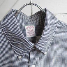"画像3: 1990's ""Brooks Brothers"" Broad B.D. Shirt NAVY CHECK size XL-XXL (3)"