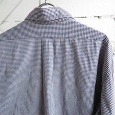 "画像4: 1990's ""Brooks Brothers"" Broad B.D. Shirt NAVY CHECK size XL-XXL (4)"