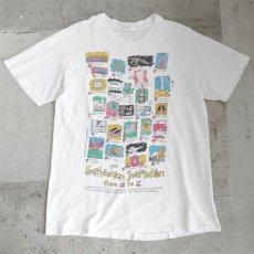 """画像1: 1990's """"Smithsonian Institution"""" Print T-Shirt WHITE size L (1)"""