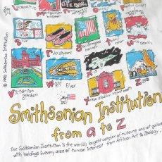 """画像6: 1990's """"Smithsonian Institution"""" Print T-Shirt WHITE size L (6)"""
