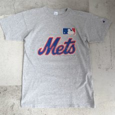 "画像1: 1980's ""Champion"" -New York Mets- Print T-Shirt HEATHER GREY size M (1)"