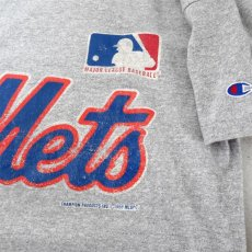"画像4: 1980's ""Champion"" -New York Mets- Print T-Shirt HEATHER GREY size M (4)"