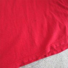 """画像8: 1980's """"Champion"""" All Cotton T-Shirt -Solid Color- RED size M-L (8)"""