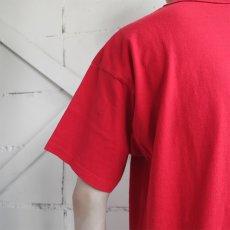 """画像5: 1980's """"Champion"""" All Cotton T-Shirt -Solid Color- RED size M-L (5)"""