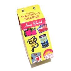 画像4: 新品 Andy Warhol(アンディウォーホル) Wooden MAGNETIC SHAPES(マグネット) 35piece入り (4)