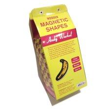 画像5: 新品 Andy Warhol(アンディウォーホル) Wooden MAGNETIC SHAPES(マグネット) 35piece入り (5)