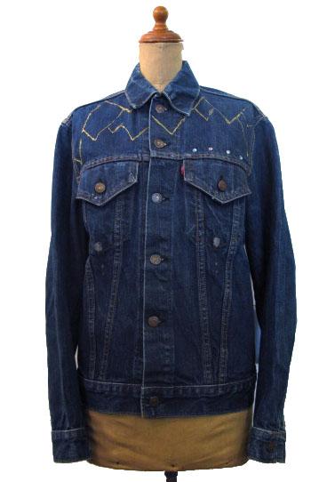 """画像1: 1970's  Levi's 70505 Big""""E"""" Custom Denim Jacket size S - M 36位  (表記 不明) (1)"""