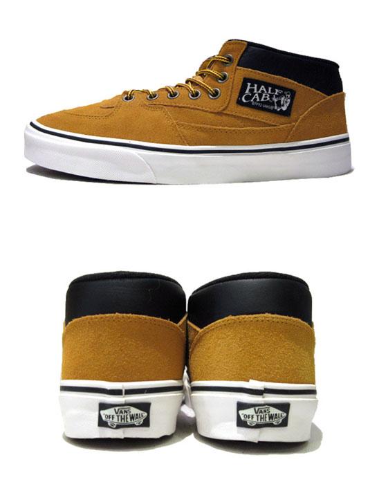 """画像2: NEW VANS """"HALF CAB"""" SUEDE Sneaker CAMEL size US 12"""