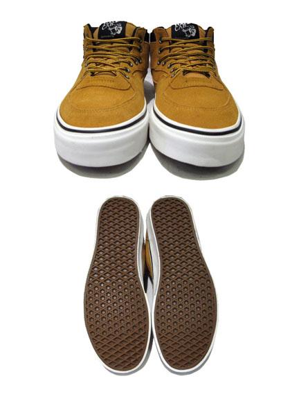 """画像3: NEW VANS """"HALF CAB"""" SUEDE Sneaker CAMEL size US 12"""