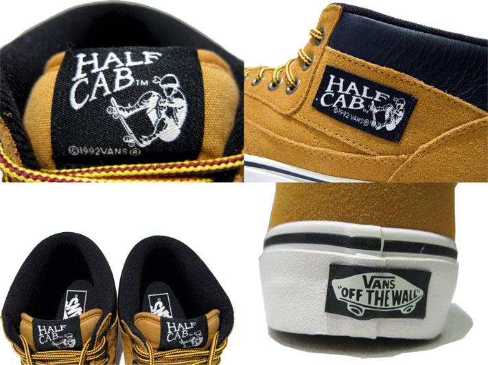 """画像4: NEW VANS """"HALF CAB"""" SUEDE Sneaker CAMEL size US 12"""