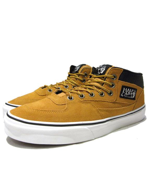 """画像1: NEW VANS """"HALF CAB"""" SUEDE Sneaker CAMEL size US 12"""