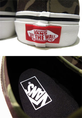 "画像3: NEW VANS ""Authentic"" Canvas Sneaker Duck Hunter Camo size 11"