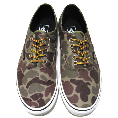 "画像5: NEW VANS ""Authentic"" Canvas Sneaker Duck Hunter Camo size 11"