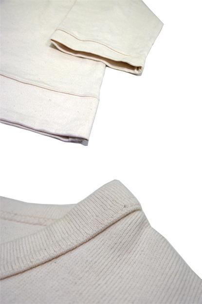 """画像2: """" Note and Pen the poem """" ノートとペン """"ポエムのTee""""(袖九分目) OFF WHITE"""