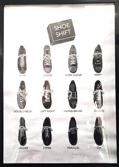 "画像5: SHOE SHIFT ""Regular Width"" Cotton Shoelace -made in JAPAN- BLACK"