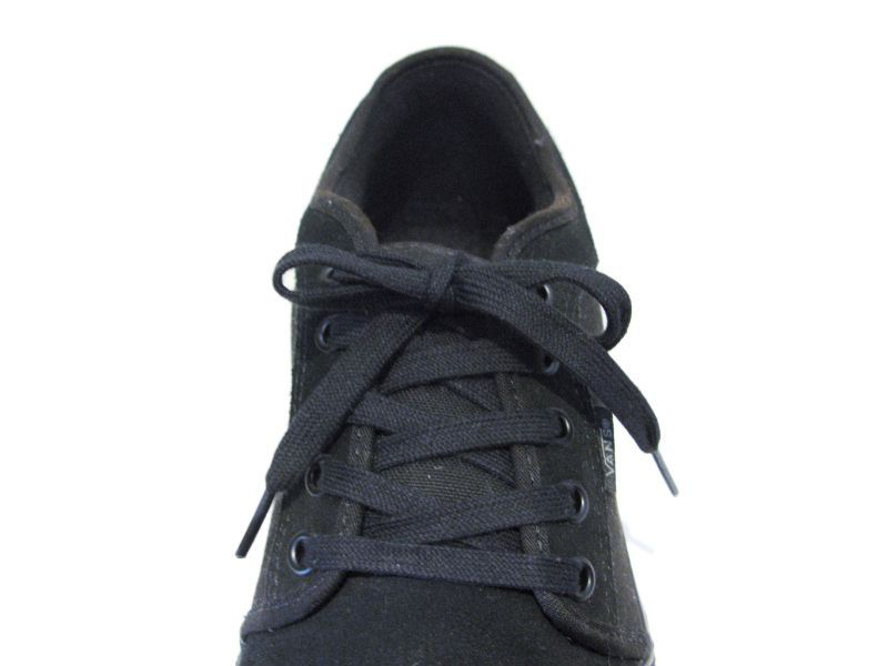 "画像4: SHOE SHIFT ""Regular Width"" Cotton Shoelace -made in JAPAN- BLACK"