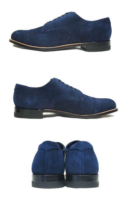 "画像2: STACY ADAMS ""MADISON LOW"" Suede Leather Shoes BLUE size 10"