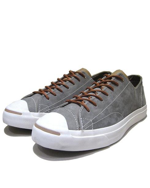 """画像1: NEW Converse """"Jack Purcell""""  Low-Cut Leather Sneaker Grey / White size 11.5 / 12 (1)"""