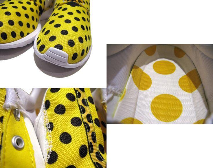 """画像4: NEW NIKE """"ROSHE NM"""" Sneakers Yellow White / Black size 13"""