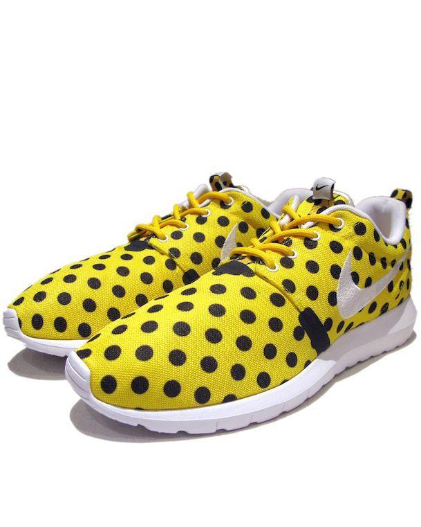 """画像1: NEW NIKE """"ROSHE NM"""" Sneakers Yellow White / Black size 13"""