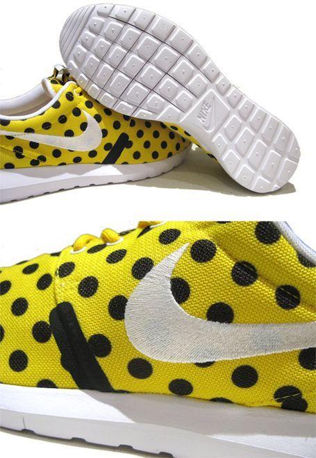 """画像3: NEW NIKE """"ROSHE NM"""" Sneakers Yellow White / Black size 13"""