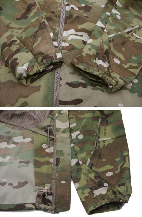 """画像5: U.S.ARMY ECWCS """"GEN III""""  Level4 Wind Jacket Dead Stock MULTICAM size SMALL - REGULAR"""