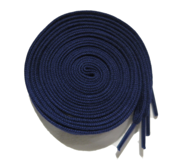 "画像2: SHOE SHIFT ""Regular Width"" Cotton Shoelace -made in JAPAN- NAVY"