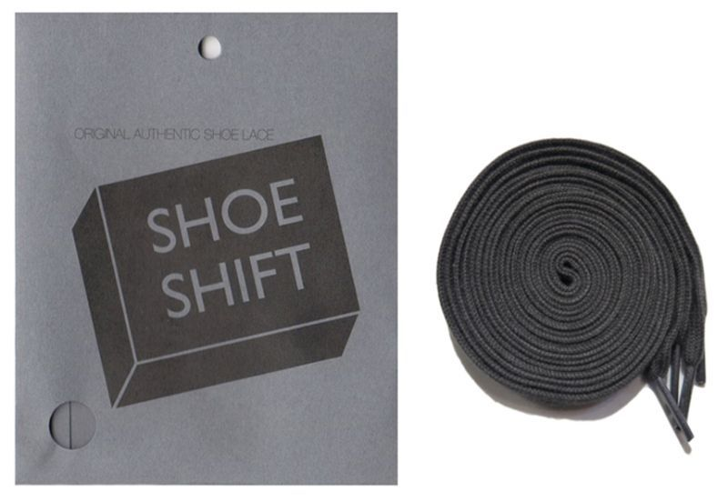 "画像1: SHOE SHIFT ""Regular Width"" Cotton Shoelace -made in JAPAN- GREY"
