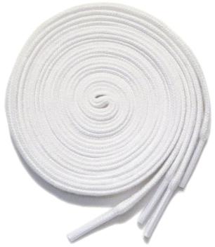 """画像2: SHOE SHIFT """"Narrow Width"""" Cotton Shoelace -made in JAPAN- WHITE"""