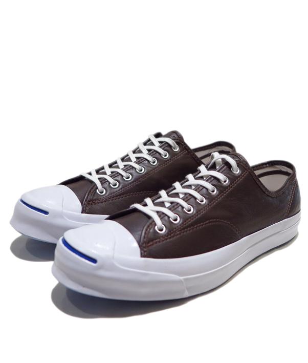 """画像1: NEW Converse """"Jack Purcell Signature"""" Low-Cut Leather Sneaker BROWN size 13"""