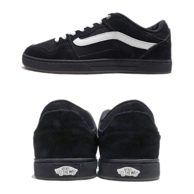 画像4: NEW VANS Suede Skate Shoes Black / White size US 7 ~ 13