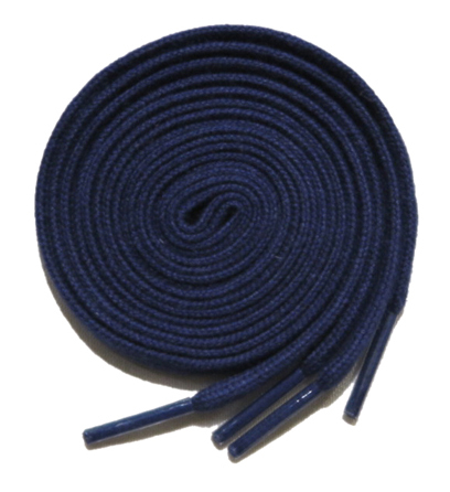 "画像2: SHOE SHIFT ""Narrow Width"" Cotton Shoelace -made in JAPAN- NAVY"
