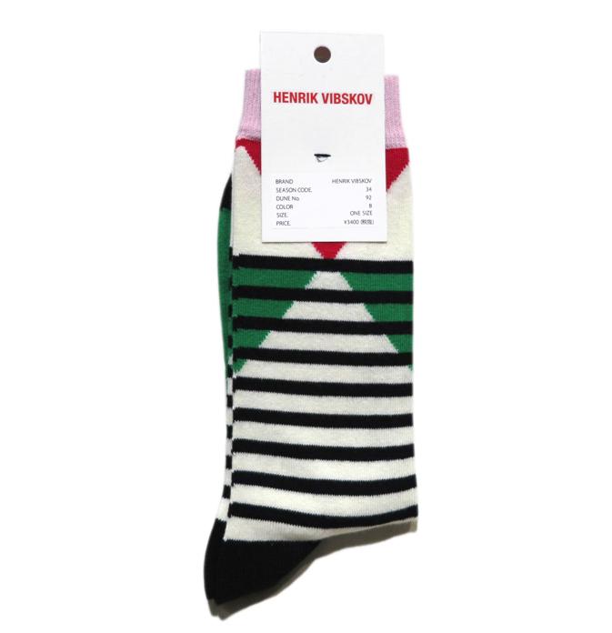 """画像2: D) HENRIK VIBSKOV """"Harmony Socks"""" color : Green Foot size FREE"""