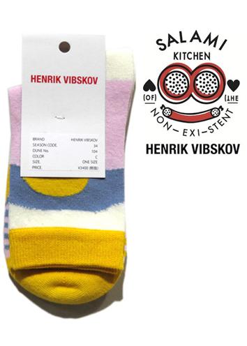 """画像1: 2) HENRIK VIBSKOV """"Mars Femme Socks"""" color : Yellow Tone size FREE(Woman's)"""