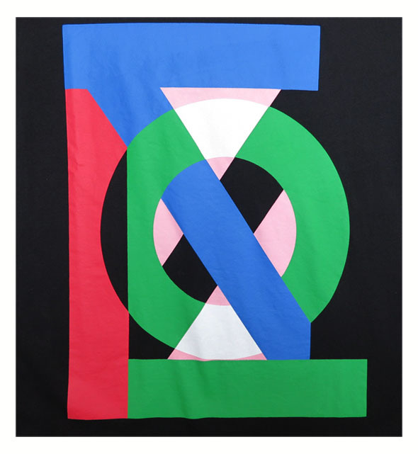 "画像3: HENRIK VIBSKOV  ""THE TEE"" WATER ON BLACK size M , L , XL"