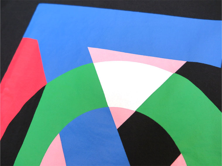 "画像4: HENRIK VIBSKOV  ""THE TEE"" WATER ON BLACK size M , L , XL"