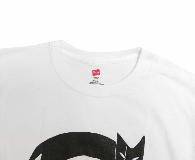 画像3: JUTTA NEUMANN Print T-Shirts White / Black size MEDIUM