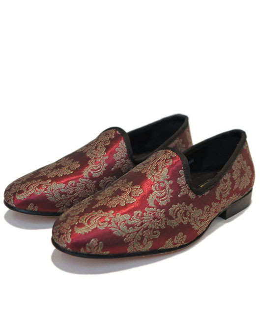 画像1: STACY ADAMS  Slip-on Loafer Burgundy size 7 , 8