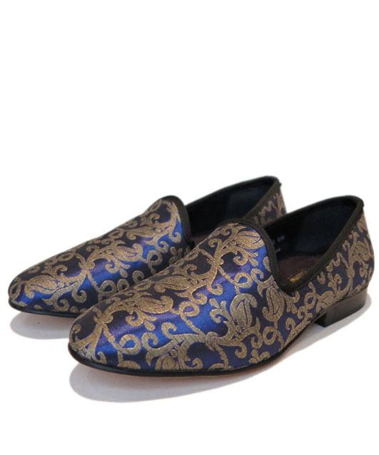 画像1: STACY ADAMS  Slip-on Loafer Blue size 7 , 8 , 9
