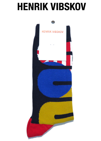 """画像1: IV) HENRIK VIBSKOV """"Whoop Socks"""" color : Multicolor Whoop size FREE"""