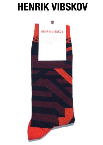 """画像1: V) HENRIK VIBSKOV """"Peyote Socks"""" color : Bourdeaux Peyote size FREE"""