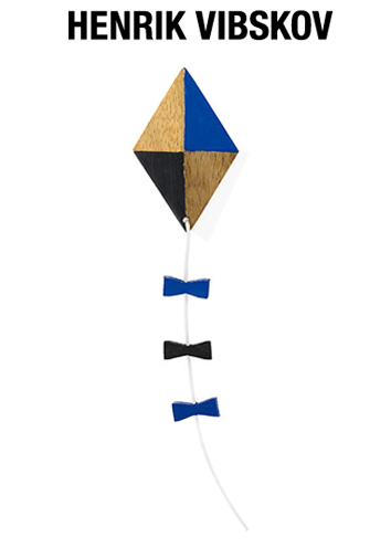"画像1: HENRIK VIBSKOV  ""KITE PIN"" Blue / Black ONE SIZE"