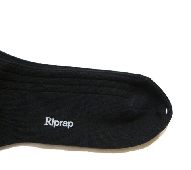 """画像4: Riprap """"NZ MERINO LONG HOSE SOCKS"""" color : BLACK size FREE (25~27cm)"""