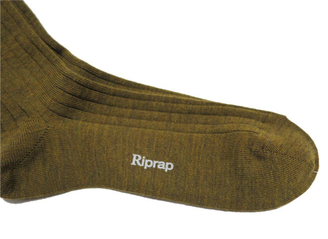 "画像4: Riprap ""NZ MERINO LONG HOSE SOCKS"" color : DRIED LEAF size FREE (25~27cm)"