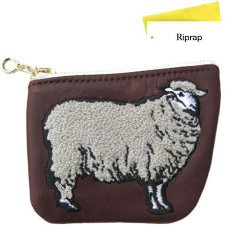 "画像1: Riprap ""SHEEP COIN PURSE"" color : BROWN size FREE (one size)"